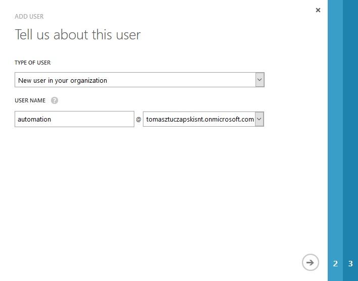 azuread add user1