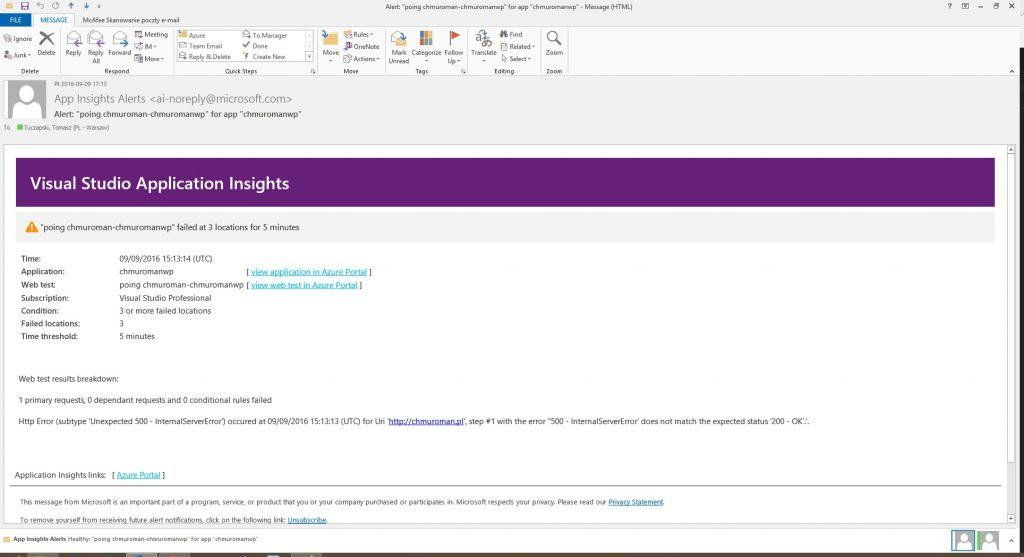 appinsights-fail-email