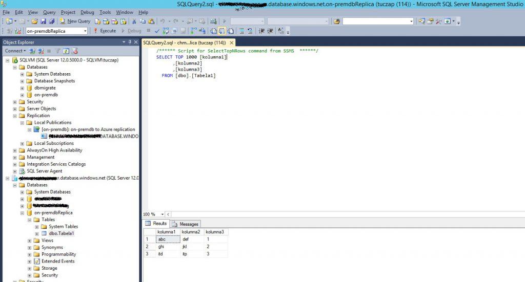 SQLServer-SSMS-AzureDb-replica