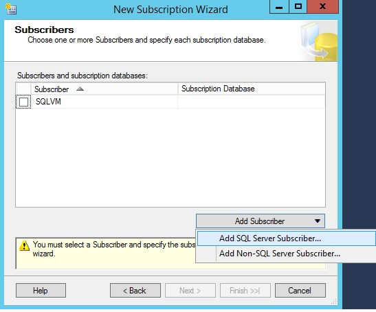 SQLServer-add-subscriber