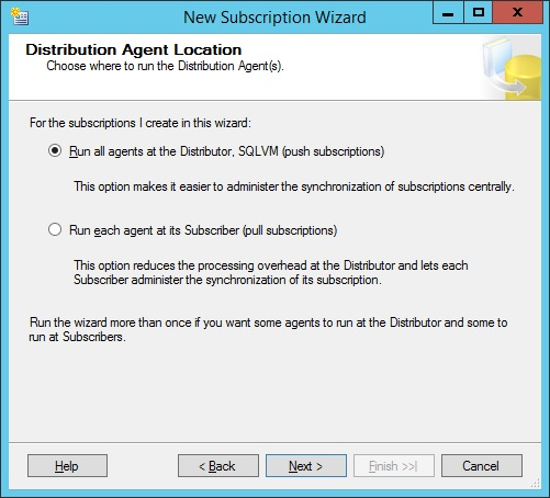 SQLServer-distr-agent-location
