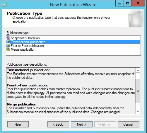 SQLServer-publication-type