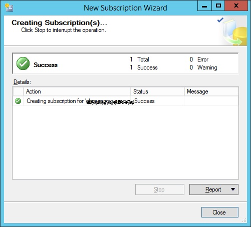 SQLServer-subscription-created